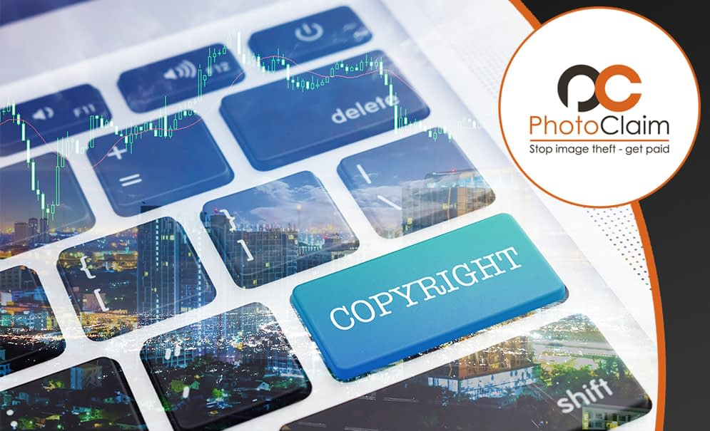 protect your photography: computer keyboard with copyright button