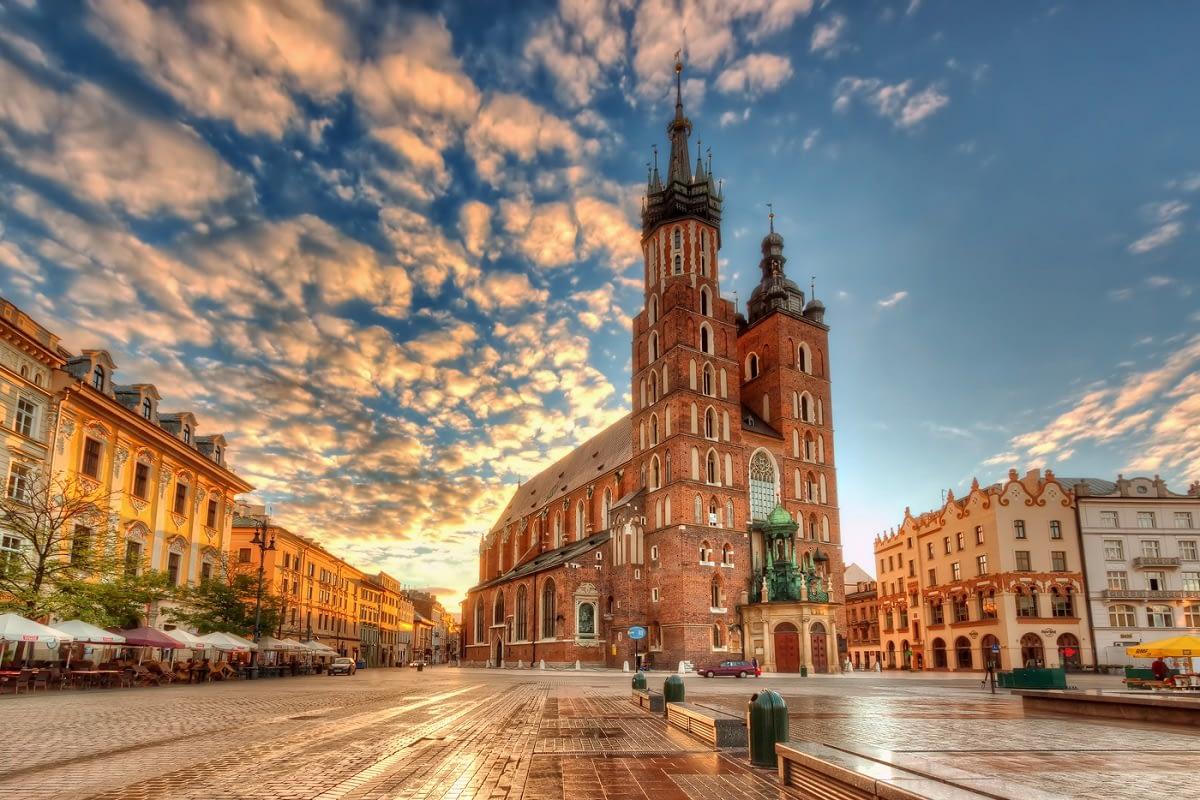 Mary Basilica Krakow