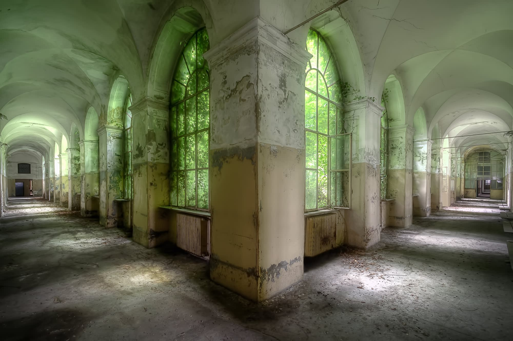 abandoned space