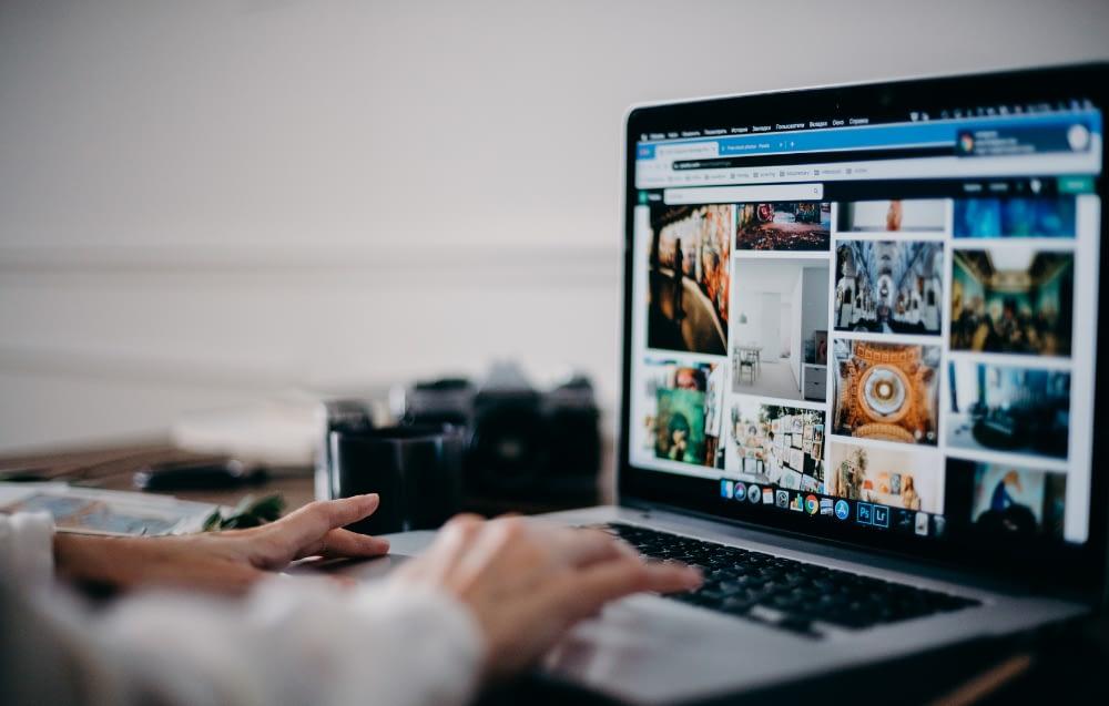 find stolen pictures online